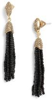 Vince Camuto Women's Seed Bead Tassel Earrings