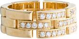 Cartier Diamond Maillon Panthère Ring