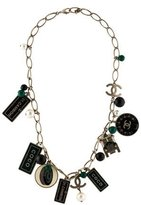 Chanel Multi Charm Necklace
