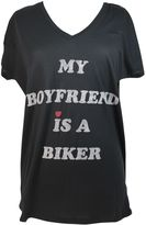 Zoe Karssen my Boyfriend Is A Biker Caviar T-shirt