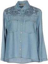 Patrizia Pepe Denim shirts