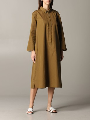 Aspesi Long Shirt Dress