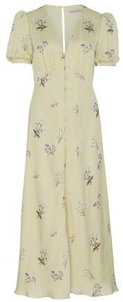 Thumbnail for your product : Self-Portrait Floral midi dress