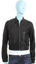 Fifth Avenue Shoe Repair Leather Jacket- Black