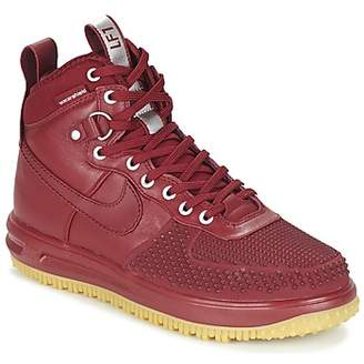 Nike LUNAR FORCE 1 DUCKBOOT men's Mid Boots in Red