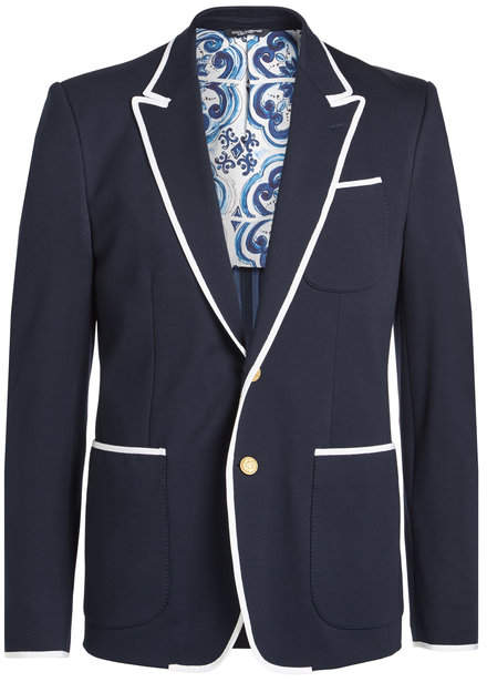 Dolce & Gabbana Blazer with Cotton