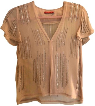 Alice + Olivia Pink Silk Top for Women