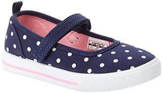 Carter's Simple Joys by Baby Girls' Indie Casual (Slip-on Shoe with a Velcro Strap) Mary Jane Flat