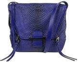 Kooba Gwenyth Leather Shoulder Bag, Cobalt