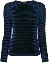 Giorgio Armani striped knit jumper