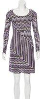 Missoni Patterned Wool-Blend Dress