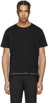 Valentino Black Eyelet T-shirt