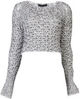Jen Kao Tangled knit sweater