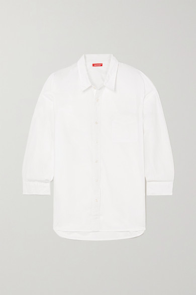 Denimist Cotton-poplin Shirt - White