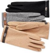 Lauren Ralph Lauren Metal Logo Belted Tech Gloves