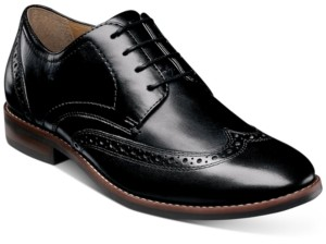 Nunn Bush Men's Fifth Ward Flex Wingtip Oxfords Men's Shoes