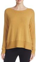 Eileen Fisher Petites Heathered Drop Shoulder Sweater