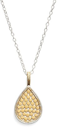 Anna Beck Reversible Teardrop Pendant Necklace