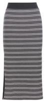 ATM Anthony Thomas Melillo Striped Jersey Skirt