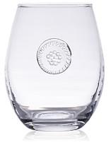 Juliska Berry & Thread Glassware Stemless White Wine Glass