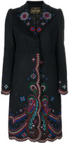 Roberto Cavalli embroidered coat