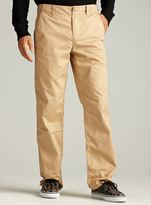 Life After Denim Straight Fit Chino In Khaki A