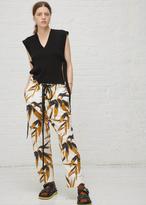 Marni swash print trouser