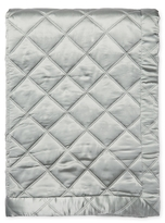 Ann Gish Silk Big Diamond Coverlet