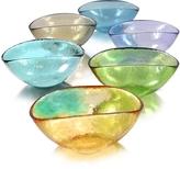 Yalos Murano Happy Fruit - 6 Colored Murano Glass Bowls