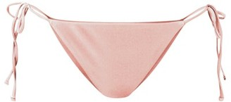 JADE SWIM Ties Side-tie Bikini Briefs - Pink