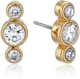 Kate Spade Round Linear Stud Earrings