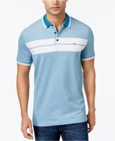 Michael Kors Men's Tipped Chest-Striped Polo