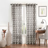 Eclipse Amadora Rod-Pocket Sheer Curtain Panel