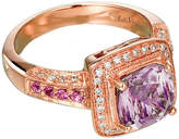 Le Vian 14CT Strawberry Gold Diamond & Amethyst Ring