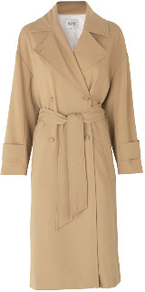 Second Female - Silvia Trench Coat with Belt Loops - large