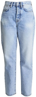 Acne Studios High-Rise Boyfriend-Fit Five-Pocket Cropped Ankle Jeans