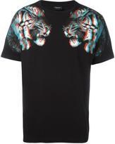 Marcelo Burlon County of Milan tiger hologram print T-shirt
