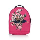 Dolce & Gabbana Dolce & GabbanaGirls Fuchsia Floral Zambia Backpack