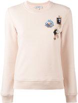 Carven multi patched sweatshirt - women - Cotton - M