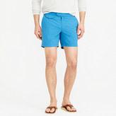 "J.Crew 6.5"" Tab Swim Short With Blue Side Stripe"