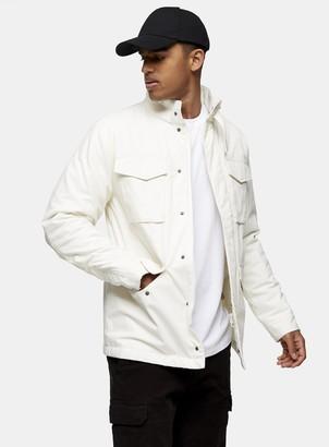Topman Ecru Four Pocket Jacket