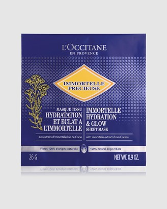 L'Occitane Immortelle Hydration Glow Sheet Mask 4 Pieces