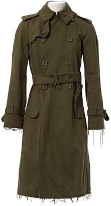 Junya Watanabe Khaki Cotton Trench Coat for Women