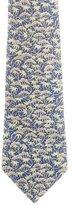 Hermes Silk Flora Print Tie