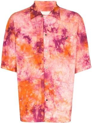 Nicholas Daley Aloha tie-dye shirt