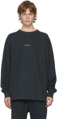Acne Studios Black Logo Sweatshirt