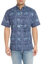 Reyn Spooner Lahaina Sailor Button Down Polo