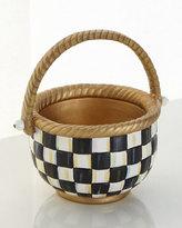 Mackenzie Childs MacKenzie-Childs Small Courtly Check Basket