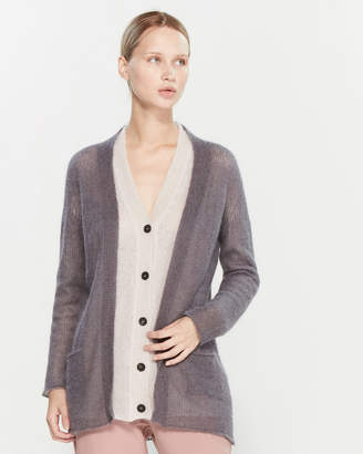 Roberto Collina Layered Longline Cardigan