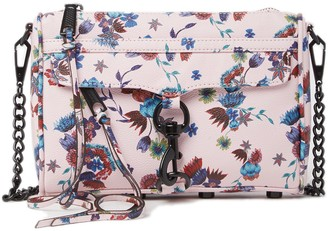 Rebecca Minkoff Mini Mac Floral Convertible Crossbody Bag